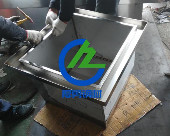 水箱激光切割加工